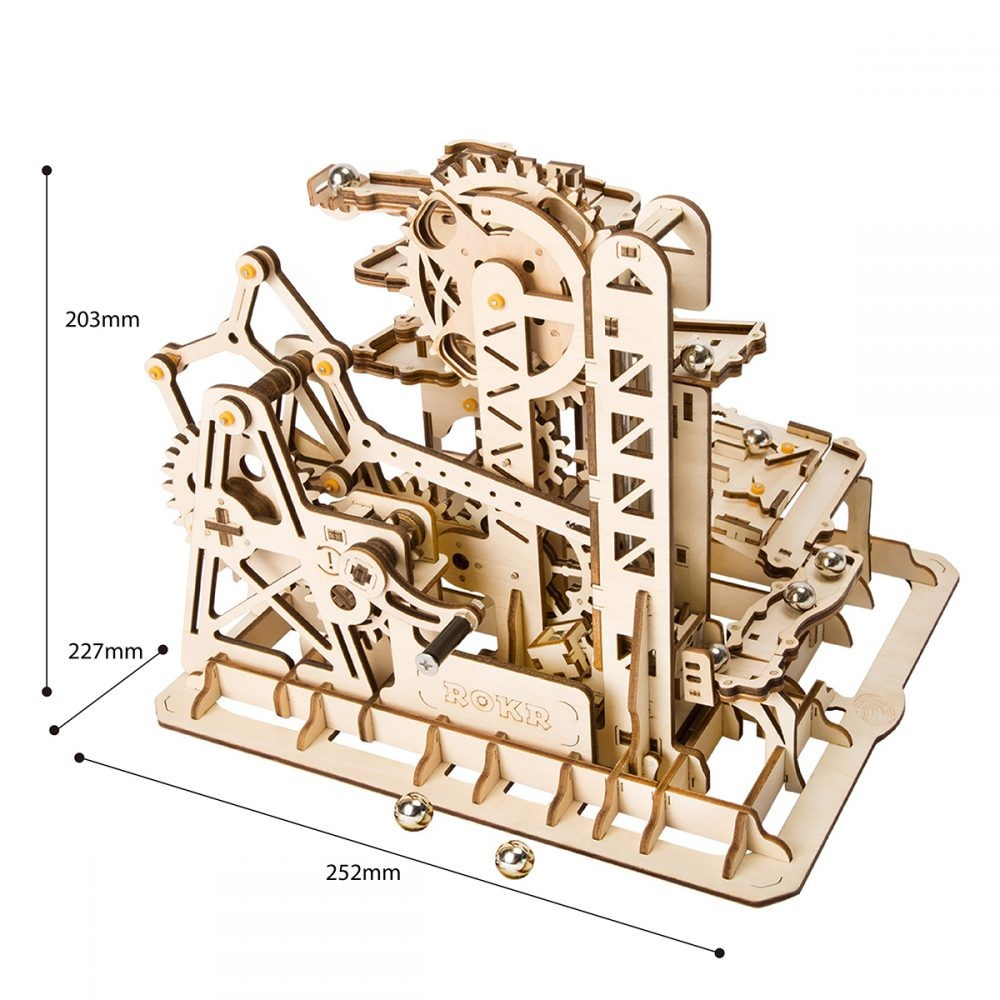 Tower Coaster Model Dimensions