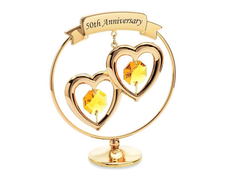 Crystocraft 50th Anniversary Ornament