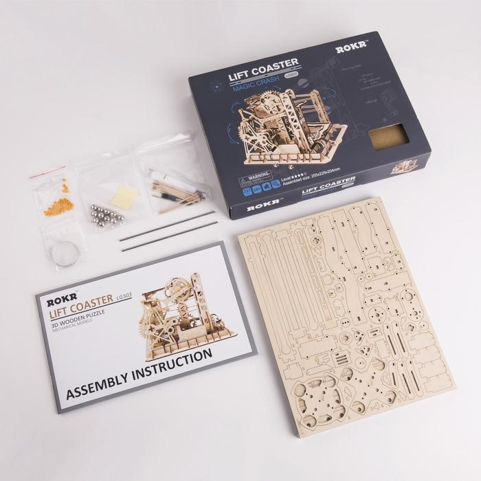 Lift Coaster Packaging